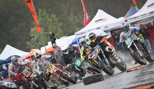Saisonauftakt SuperMoto-ÖM 2012