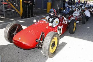 Arie Luyendyk im historischen NARDI-FV-1200 in Daytona-2013