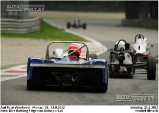 Erfreuliche Entwicklung bei der Formel Historic - Das Starterfeld wächst weiter