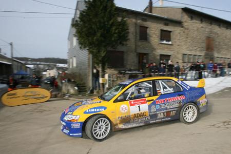 Herrmann Gaßner gewann den Mastersauftakt bei der ADAC Litermont Rallye