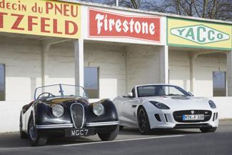 Jaguar F-TYPE auf den Spuren von Jabbeke - Foto: Jaguar