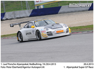 Martin Ragginger - Teststart im Alpenpokal - Foto: Peter Eberhard/Agentur Autosport.at