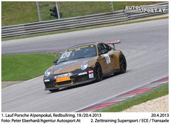 Zawotec-Porsche hier beim Alpenpokal am letzten Wochenende - Foto: Peter Eberhard/Agentur Autosport.at