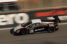 Grasser Racing Team holt sich mit Rang 3 in der Pro-Am-Wertung den ersten Podestplatz in der FIA GT Series - Foto: motioncompany