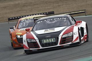 Mamerow/Jöns im Audi auf Platz zwei - Foto: ADAC GT Masters