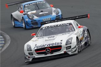Götz/Buhk mit Bestzeit in drei von vier Testsessions - Foto: ADAC GT Masters