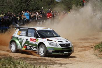 Guter Shakedown für Sepp Wiegand bei Rallye-Portugal - Foto: Skoda/McKlein