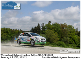 Daniel Wollinger - Wechselland Rallye 2013 - Foto: gerald Wais/Agentur Autosport.at