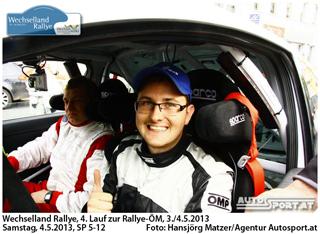 Daniel Wollinger gewinnt seine Heimrallye -  Foto: Hansjörg Matzer/Agentur Autosport.at