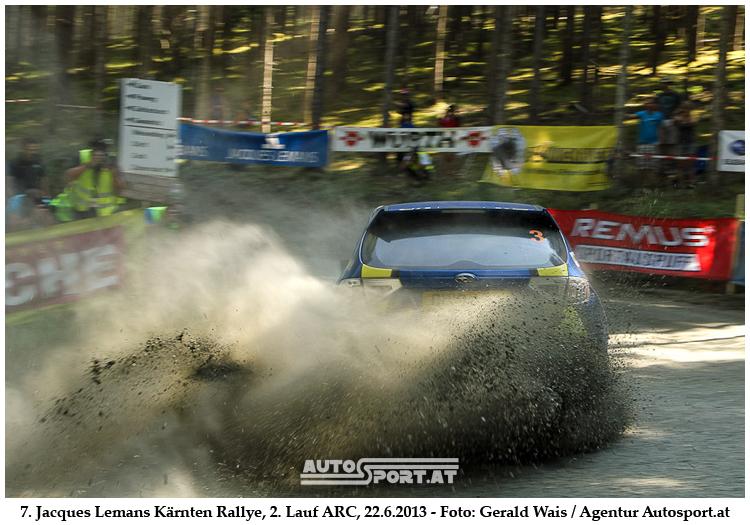 Hermann Neubauer siegt das erste Mal bei der Kärnten Rallye - Foto: Gerald Wais/Agentur Autosport.at