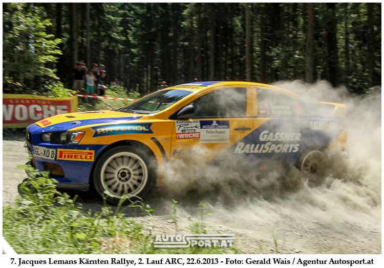 Pech blieb Gasnner jun. auch in Kärnten treu - Foto: Gerald Wais/Agentur Autosport.at