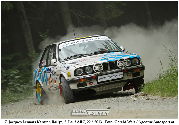 Michi Schauer/Martin Rigl - Team More Bottle than throttle - überzeugten bei Kärnten-Rallye - Foto: Gerald Wais/Agentur Autosport.at