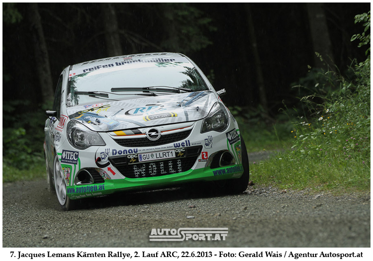 Daniel Wollingers erneuter Cupsieg reicht für den 10. Platz GEsamt - Foto: Gerald Wais/Agentur Autosport.at