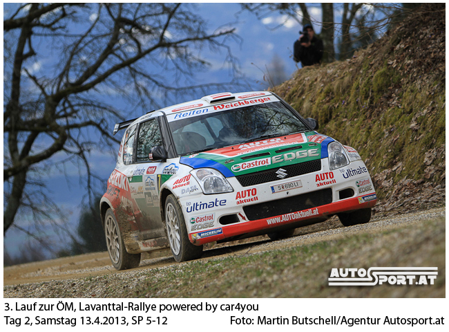 Michael Böhm vor der Rallye Weiz - Foto: Martin Butschell/Agentur Autosport.at