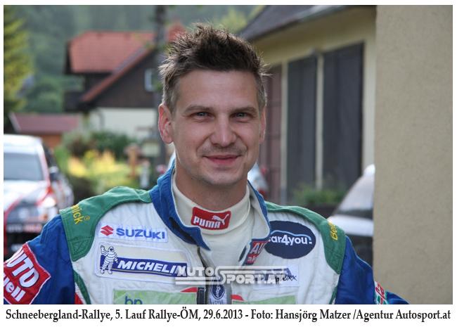 Morgens um 7 war die Welt für Michi Böhm noch in Ordnung - Foto: Hansjörg Matzer/agentur Autosport.at