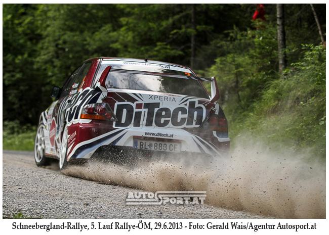 Beppo Harrach - auf der Strecke der Schnellste - Foto: gerald Wais/Agentur Autosport.at