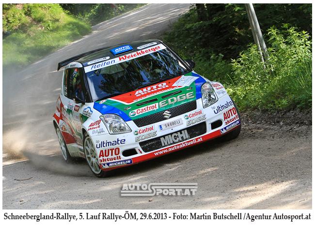 Michi Böhm im Schneebergland - Foto: Martin Butschell/Agentur Autosport.at