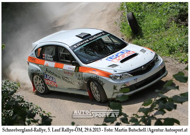 6. Platz von Walter Mayer im Schneebergland ist sensationell - Foto: Martin Butschell/Agentur Autosport.at
