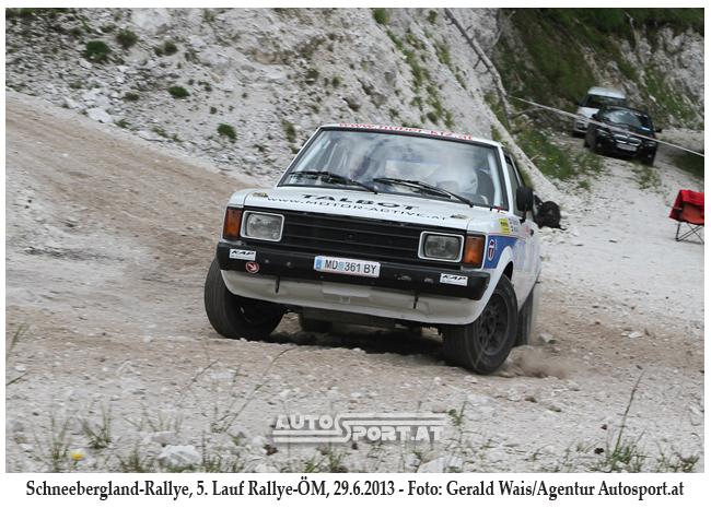 Stephan Försten/Peter Medinger auf SP9 - Foto: Gerald Wais/Agentur Autosport.at