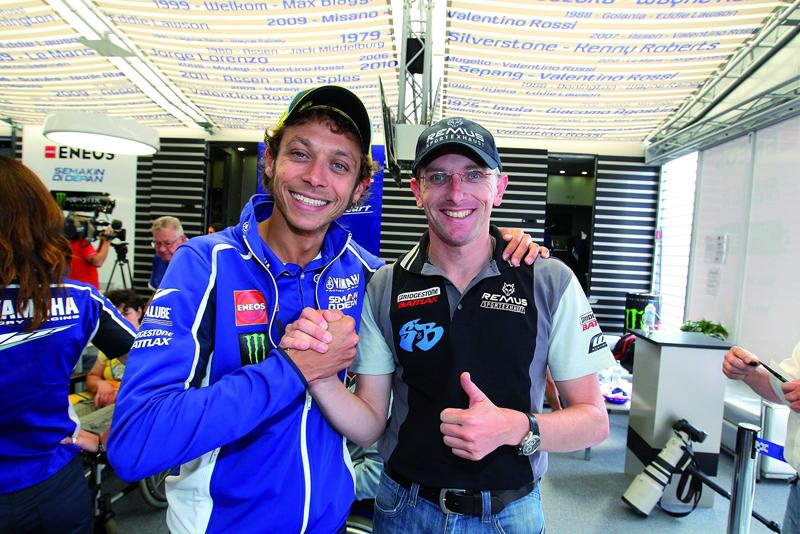Valentino Rossi & Martin Bauer - Foto: Th Horn