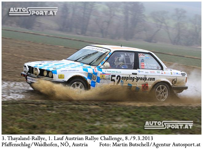 O&O Racing mit Michi Schauer und Norbert Oberauer startet bei der Barum Rallye - Foto: Martin Butschell/Agentur Autosport.at