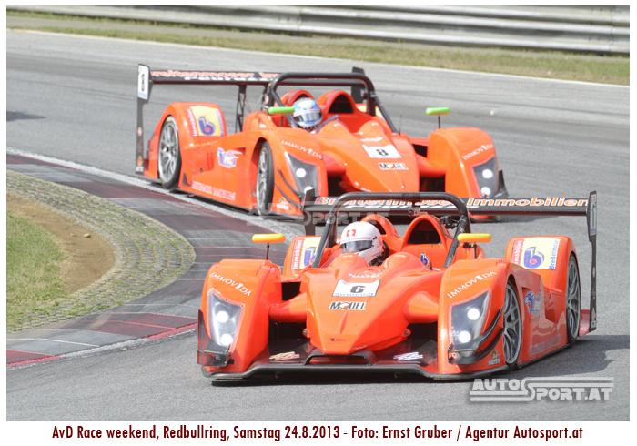 Turi und Jacques Breitenmoser im Familienduell - Foto: Ernst Gruber/Agentur Autosport.at