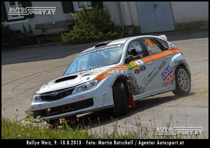Walter Mayers Start bei der Arbö noch frgalich - Foto: Martin Butschell/Agentur Autosport.at