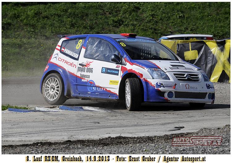 Werner Panhauser mit Platz 8 zufrieden - Foto: Ernst Gruber/Agentur Autosport.at