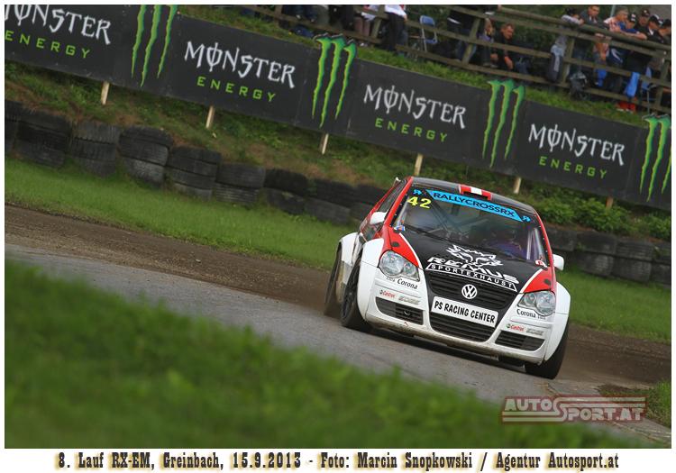 Christian Petrakovits beim Heimrenne auf Platz 6 - Foto: Marcin Snopkowski/Agentur Autosport.at