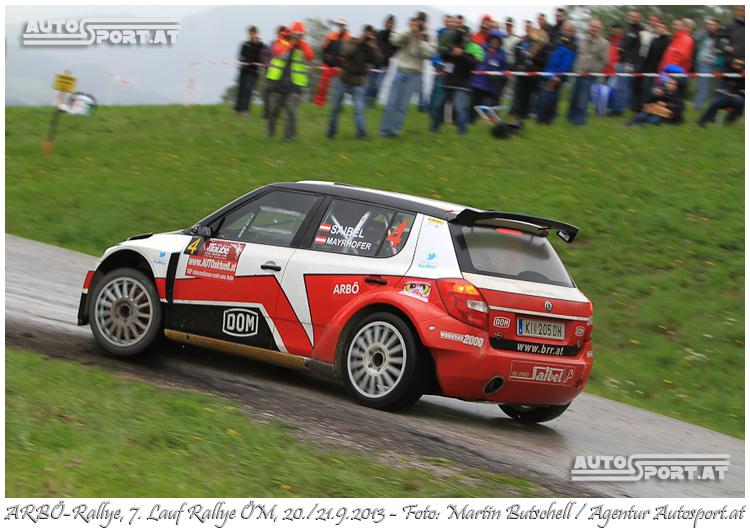 Mario Saibel überzeugt bei der ARBÖ-Rallye - Foto: Martin Butschell/Agentur Autosport.at