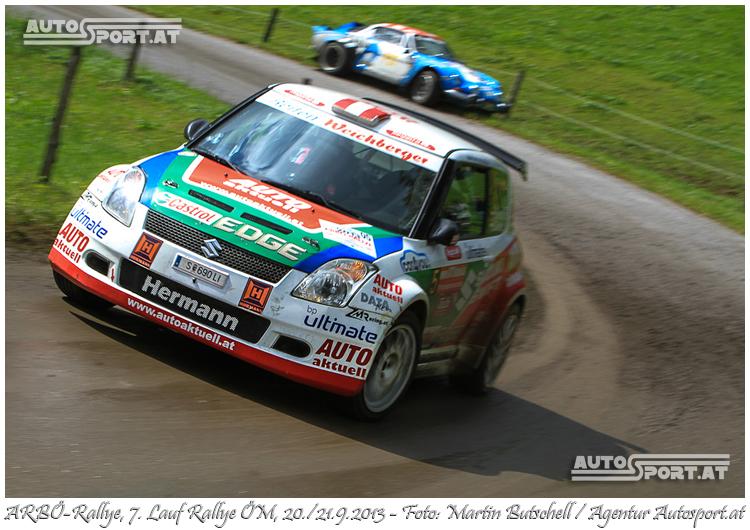 Hermann Neubauers mit Gala bei Arbö-Rallye - Foto: Martin Butschell/Agentur Autosport.at