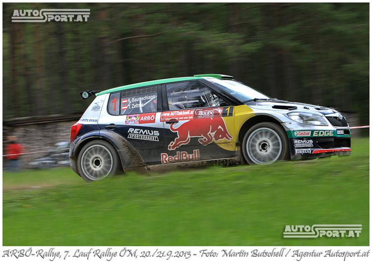 Raimund Baumschlager gewinnt zum 11. mal in Admont - Foto: Martin Butschell/Agentur Autosport.at