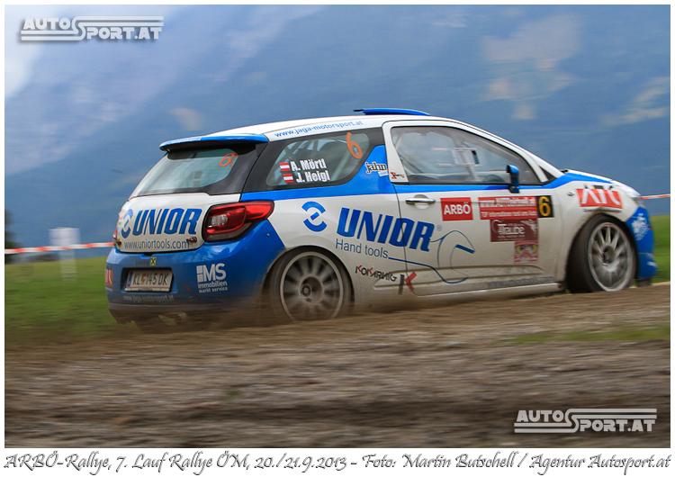 Achim Mörtl hat das Rallyefahren nicht verlernt - Foto: Martin Butschell/Agentur Autosport.at