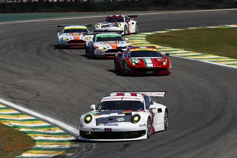 Richard Lietz - hier beim Rennen in Sao Paulo 2013 - EC/JEAN MICHEL LE MEUR / DPPI