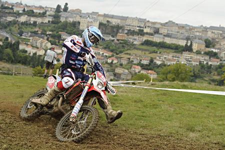 Alex Salvini vom Team HM Honda Zanardo krönt sich zum Enduro2 Weltmeister - Foto: Honda