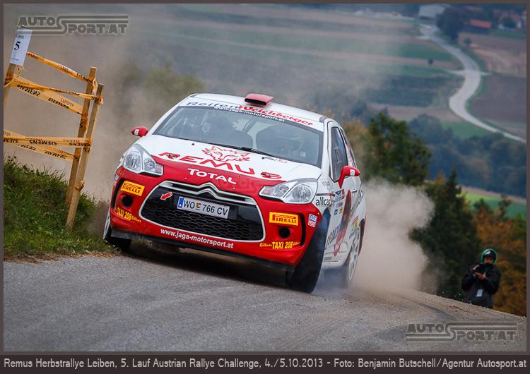 Michael Kogler: 2wd-Sieg, Gesamtrang zwei und Vizemeister der ARC - Foto: Benjamin Butschell/Agentur Autosport.at