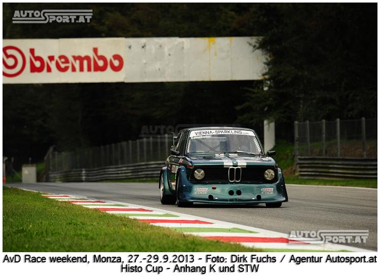 Robert edenhofer siegt bei den STW bis 2500ccm in Monza - Foto: Dirk Fuchs/Agentur Autosport.at
