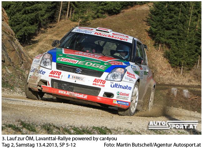 """Vor der nächstwöchigen Waldviertel-Rallye absolvierte Michael Böhm 50 Testkilometer im Suzuki 1600 und ist erleichtert: """"Ich bin fit!"""" - Foto: Martin Butschell / Agentur Autosport.at"""