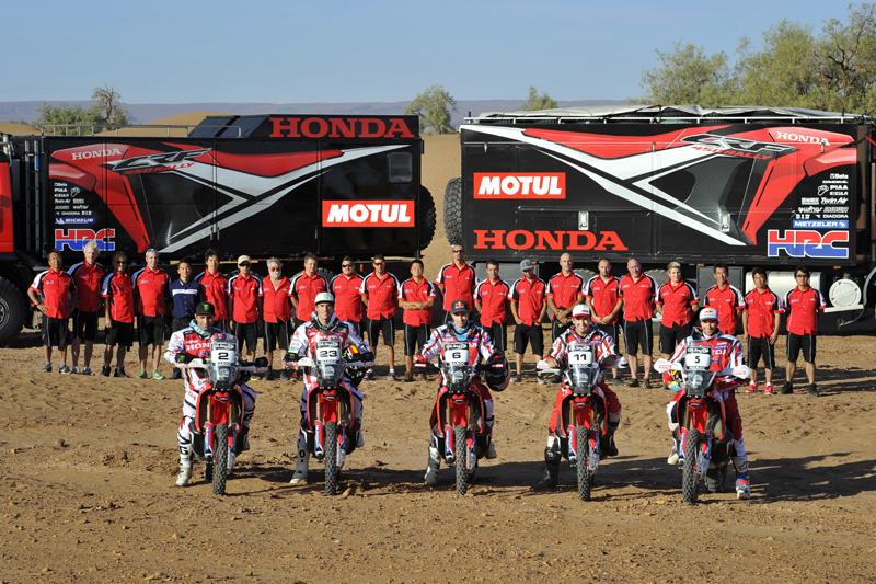 2014 Dakar Team HRC - Foto: Honda