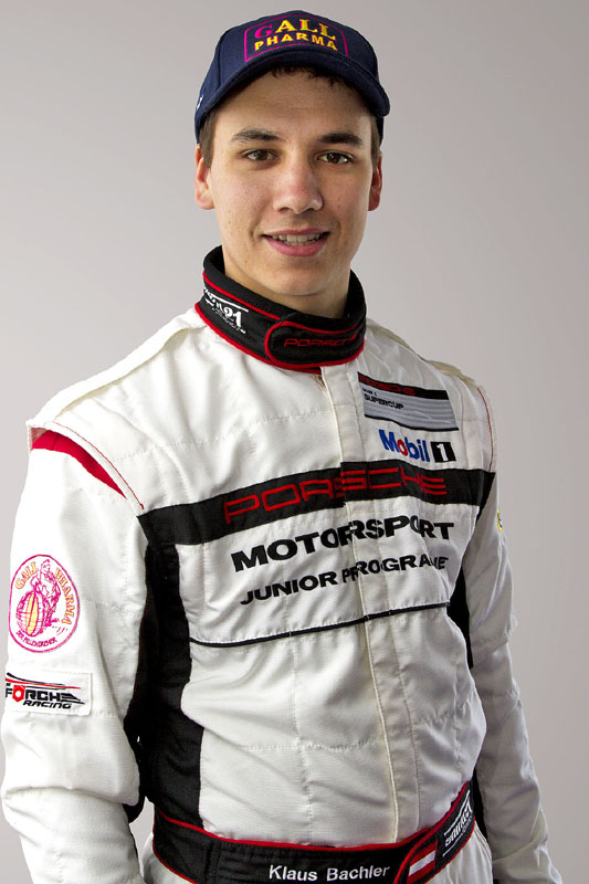 Klaus Bachler auch 2014 ein Porsche-Junior - Foto: KBM