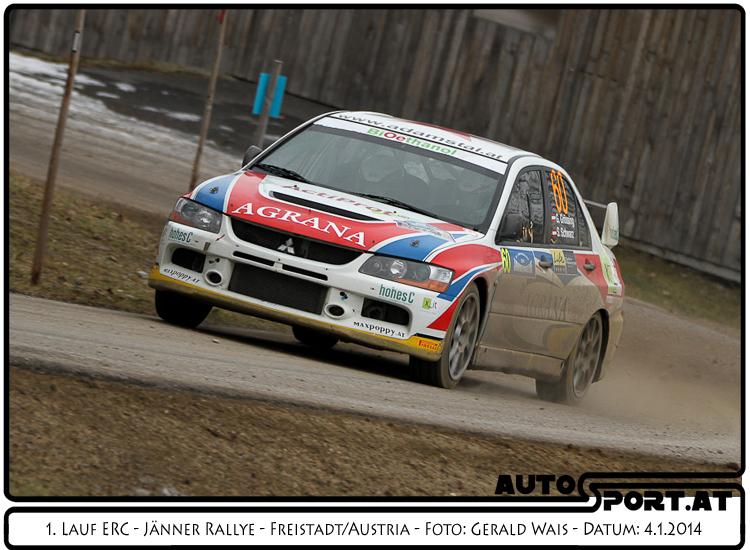 Gerwald Grössing mit etremen Vorsprung bei den nationalen Klassen - Foto: Gerald Wais / Agentur Autosport.at