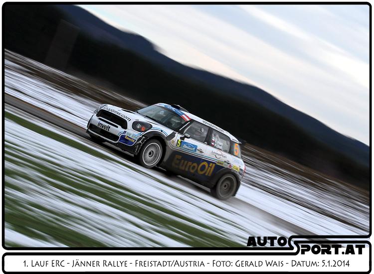 Vaclav Pech verliert auf der letzten Sonderprüfung den Sieg - Foto: Gerald Wais/Agentur Autosport.at