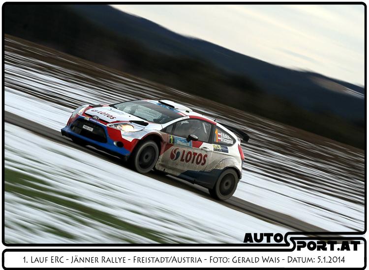 Robert Kubica erhält Auszeichnungen für die Leistungen beid er Jänner Rallye 2014  - Foto: Gerald Wais/Agentur Autosport.at