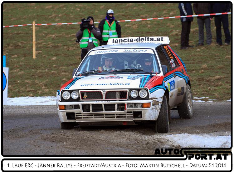 Alfred Glaser sammelte bei seiner ersten Rallye als Fahrer viel Erfahrung - Foto: Martin Butschell/Agentur Autosport.at
