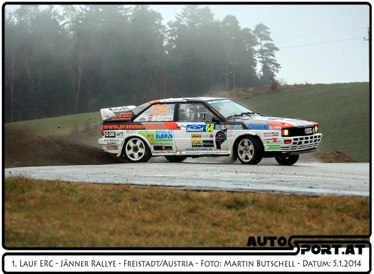 Klausner/Söllner - Jänner-Rallye-Quertreiber - Foto: Martin Butschell/Agentur Autosport.at