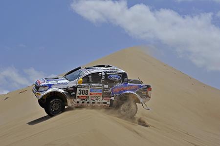 Ford Ranger Dakar 2014 - Foto: Ford