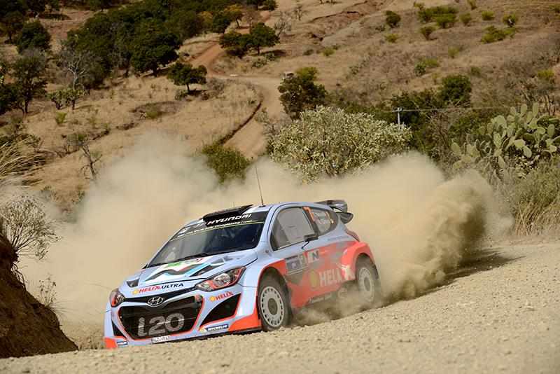 Hyundai bei der Rallye Portugal erstmals mit drei Autos - Foto: Hyundai Motorsport