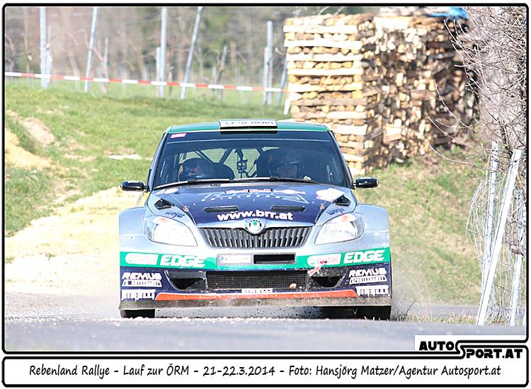 3. Rebenland Rallye - 3. Sieg für Raimund Baumschlager - Foto: Hansjörg Matzer/Agentur Autosport.at