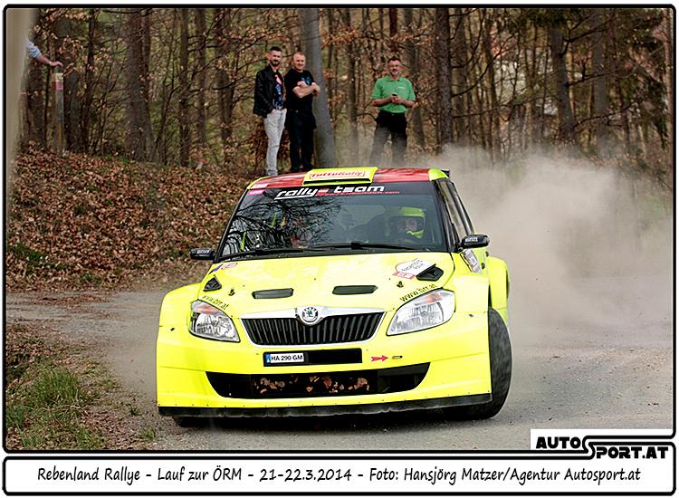 Auch Chris Brugger profitiert von Gerwald Grössings Reifenschaden - Foto: Hansjörg Matzer / Agentur Autosport.at