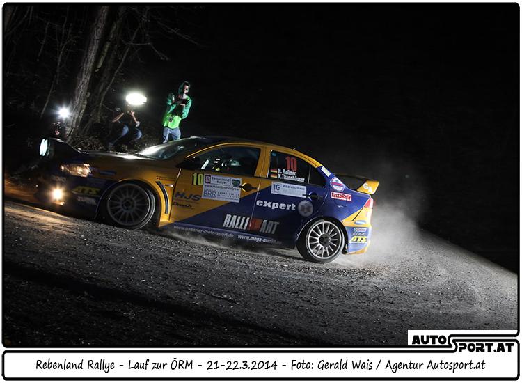 Sichtlich wohl haben sich Gassner/Thannhäuser im Rebenland gefühlt - Foto: Gerald Wais / Agentur Autosport.at